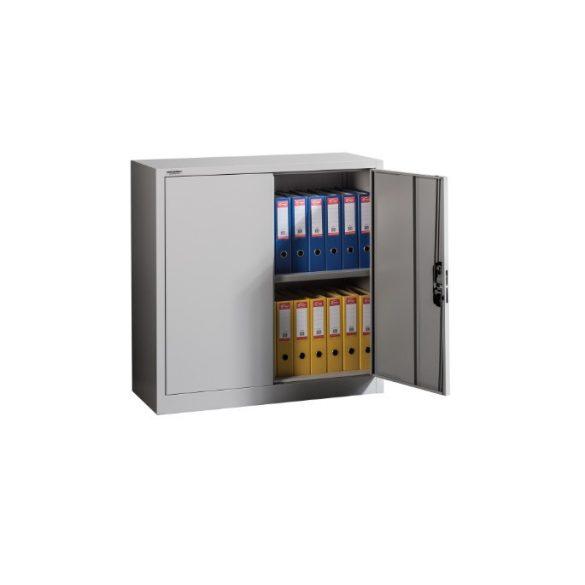 MB Fém irattároló szekrény 1 polccal 1000x420x1000 mm