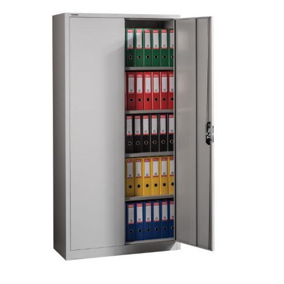 MB Fém irattároló szekrény 4 polccal 1000x420x1980 mm