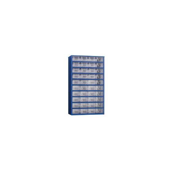 MB Alkatrésztároló szekrény 40 dobozzal 366x185x630 mm