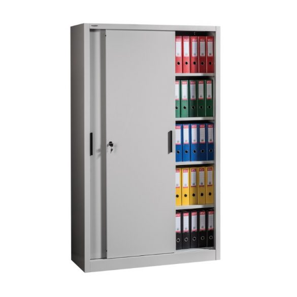 Tolóajtós szekrény 4 polccal 1200x450x2000 mm