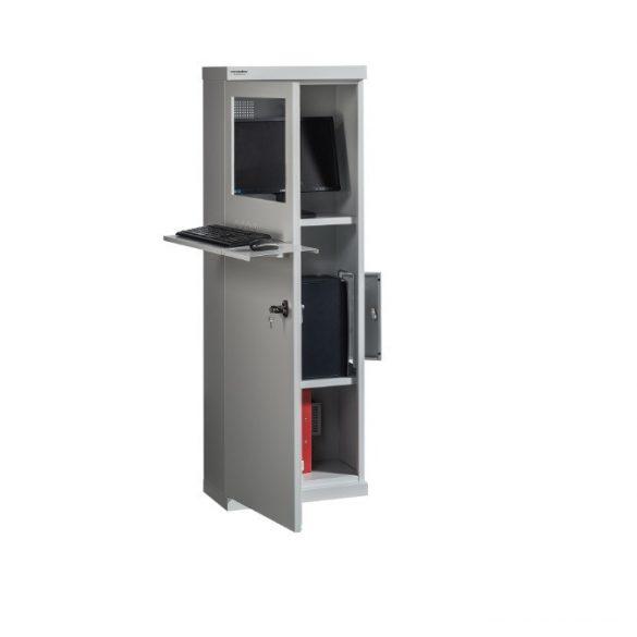 MB Számítógép-tároló szekrény 550x300x1600 mm