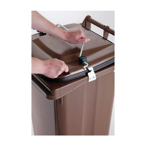 240 literes gasztro hulladékgyűjtő gumitömítéssel