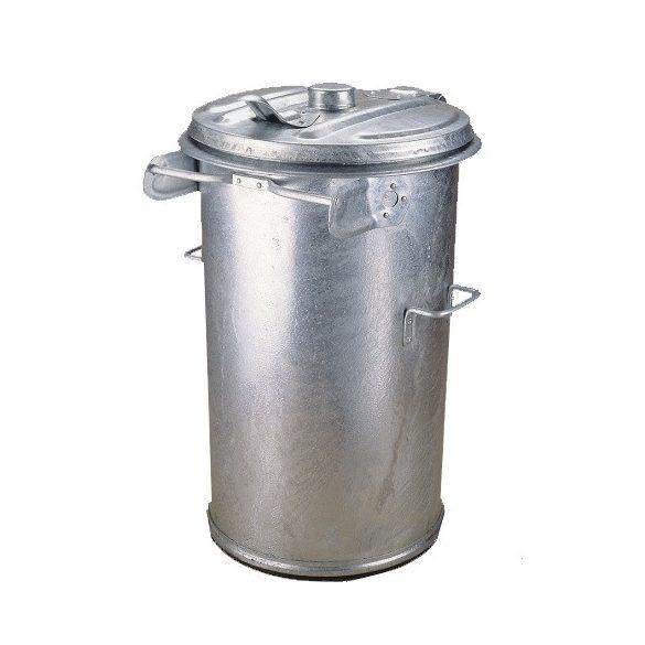 90 literes fém  tüzihorganyzott szemetes kuka