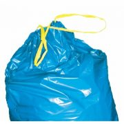 Kötözőszalagos 110 literes műanyag hulladékgyűjtő zsák