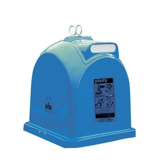 1 100 L üvegszővetes műanyag papír szelektívgyűjtő konténer