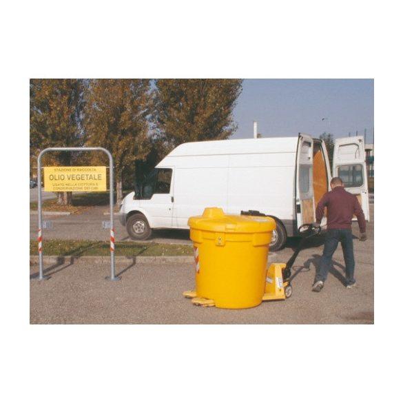 Olajtartály használt, háztartási olajhoz 500 L