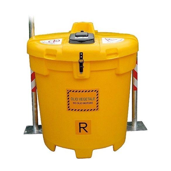 Olajtartály használt, háztartási olajhoz 800 L