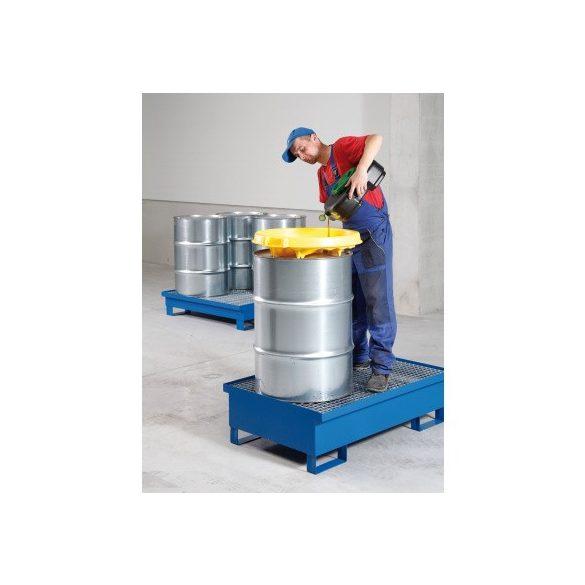 Gyűjtőkád rosttal, 1200x800x250/350 mm, 220 L
