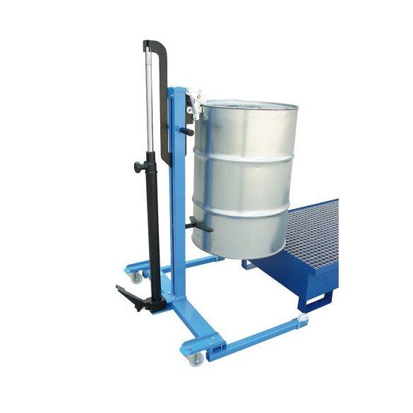 Hidraulikus hordóemelő