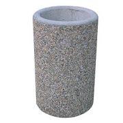 MAXI beton hulladékgyűjtő,  ø 550x905 mm