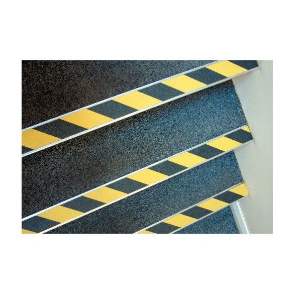 Csúszásgátló szalag fekete/sárga 102 mm