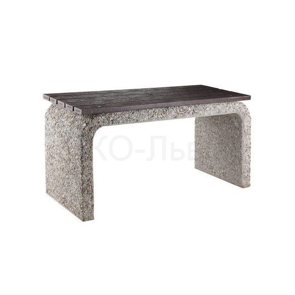 Beton asztal, 1600x650x800 mm