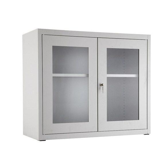 Üveges szekrény, 950x400x800 mm