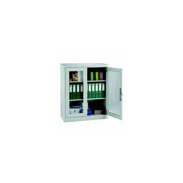 Üveges szekrény, 950x400x1150 mm