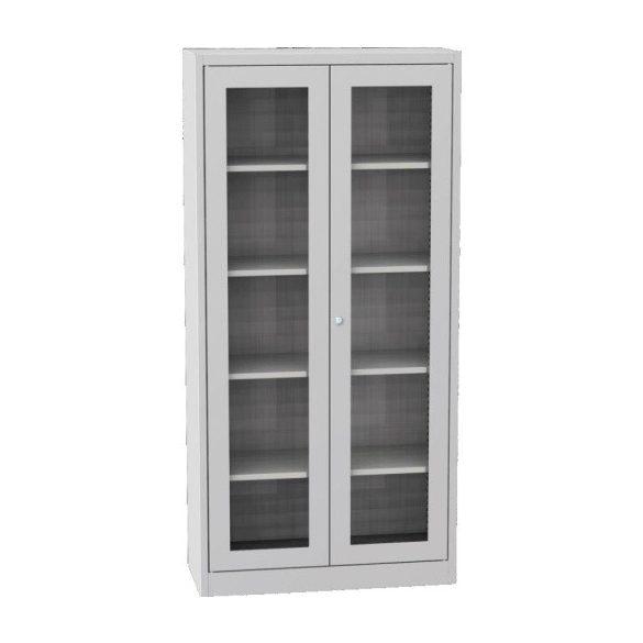 Üveges szekrény, 950x400x1950 mm