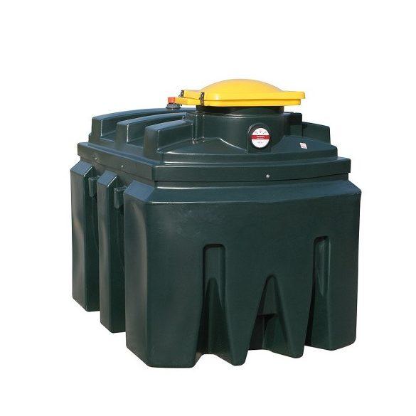Tároló edény használt olajra-1200 L, 1220x1900x1400 mm