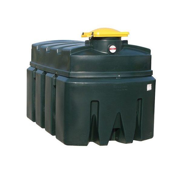 Tároló edény használt olajra 2500 L, 1460x2460x1600 mm