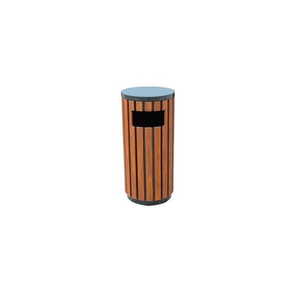 Kerek hulladékgyűjtő-Barcelona, 37 L, ø 400x755 mm