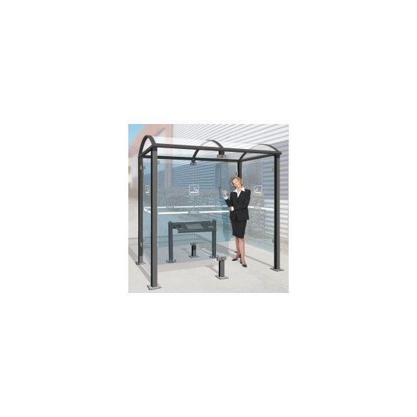 Fedett dohányzóhely, 2500x1560x2680 mm