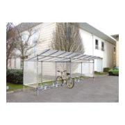 Fedett kerékpár tároló, 2580x2150x1977 mm