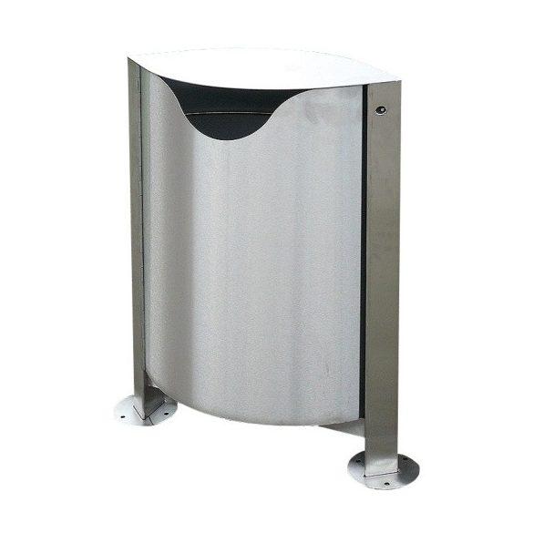 Topol hulladékgyűjtő, 55 L, 600x250x1000 mm