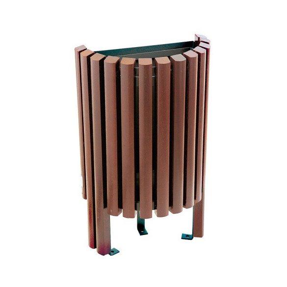 Salou félkör alakú hulladék tároló, 20 L, ø 460x700 mm