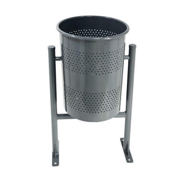 Kör alakú hulladék tároló, 60 L, ø 380x885 mm