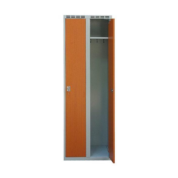 Öltöző szekrény laminált ajtóval 2/3 ajtós kivitelben