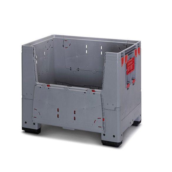 Műanyag konténer, 1200x800x1000/420 mm
