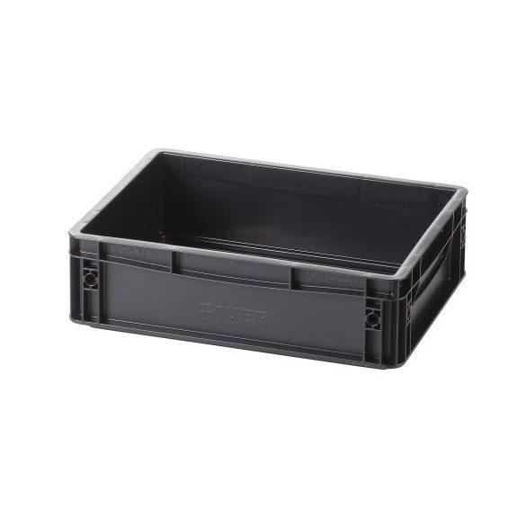 Műanyag tároló doboz 400x300x120 mm