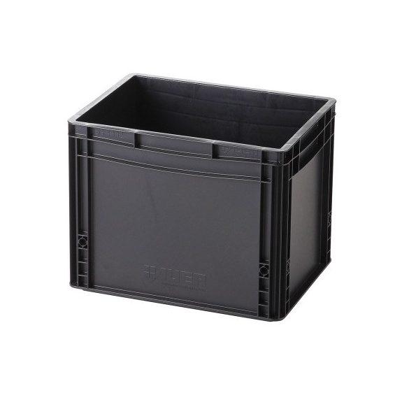 Műanyag tároló doboz 400x300x320 mm