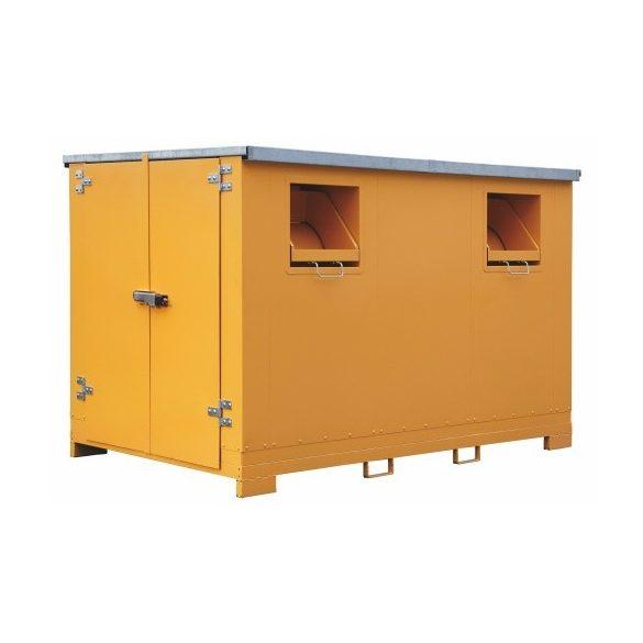 Konténer használt textil hulladék számára 9 m³, 3010x1925x2010 mm