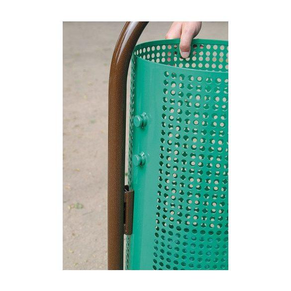 Rögzíthető hulladékgyűjtő, Ø 310x490/1100 mm