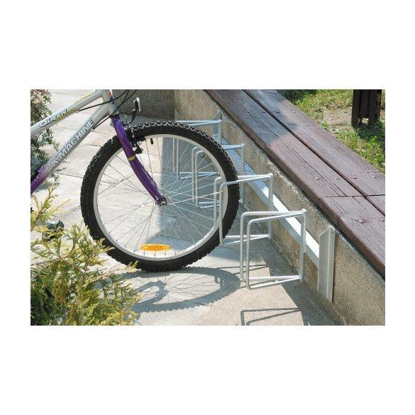 Kerékpárállvány, 1500x275x265 mm