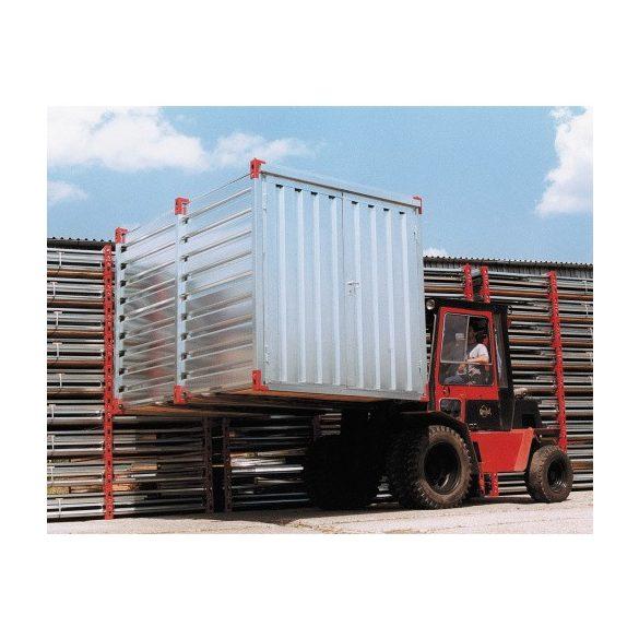 Tároló konténer 2250x2200x2200 mm