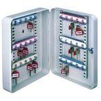 Kulcstároló szekrény, 30 kulcs tárolására