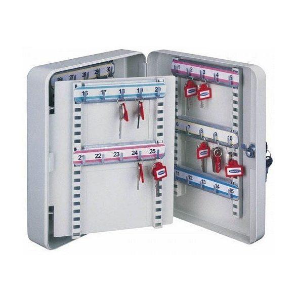 Kulcstároló szekrény, 40 kulcs tárolására