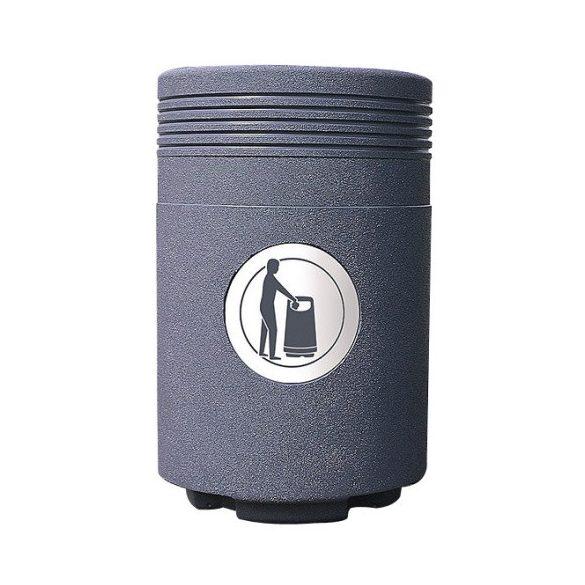ADMIRÁL műanyag hulladékgyűjtő, 85 l, Ø 470x760 mm