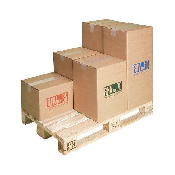 Kartondoboz veszélyes hulladékra 70 l, 400x395x515 mm