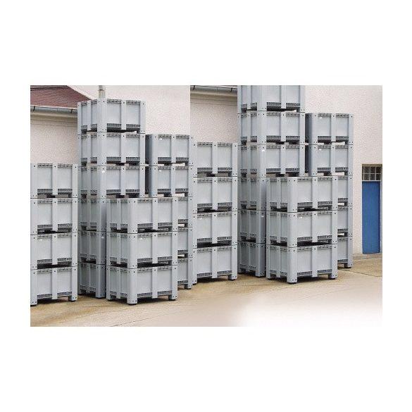 Műanyag konténer, 1200x1000x580 mm