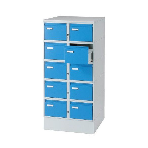 Kartoték szekrény A6, 438x600x1250 mm