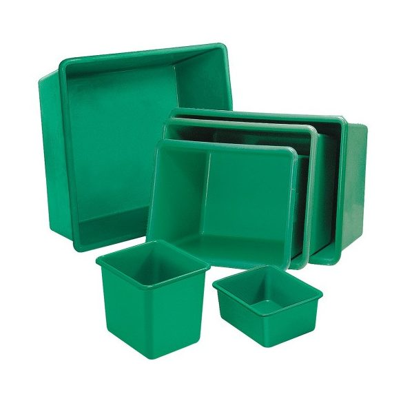 Üvegszövetbetétes edény 700 L, 1180x830x800 mm