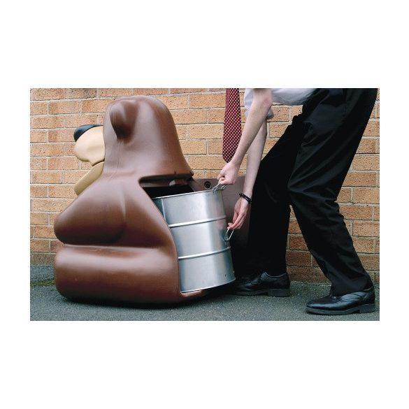 Medve hulladékgyűjtő, 52 L, 762x740x941 mm