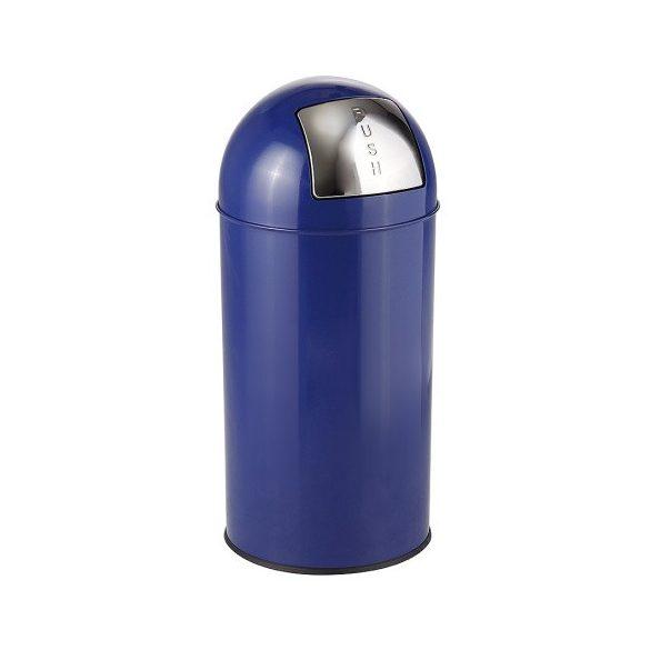 Hulladékgyűjtő fém betéttel-króm 40 L, ø 350x719 mm