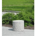 Kör alakú beton elhatároló, ø 470x500 mm