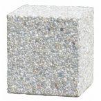 Négyzet alakú beton elhatároló, 500x500x500 mm