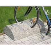 Kerékpárállvány betonból, 900x500x180 mm