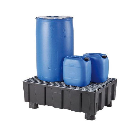Műanyag kád, 250 L, 805x1205x430 mm