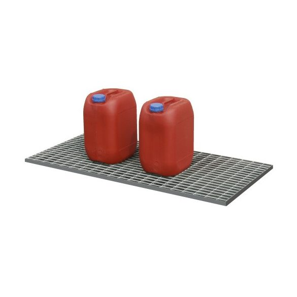 Műanyag kád rács nélkül, 600x980x85 mm, 30 L