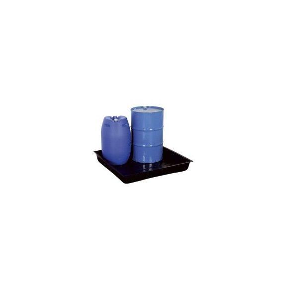 200 l műanyag gyűjtőkád, 1255x1255x182 mm